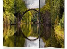 Paraván - Devil's Bridge in Kromlau,Germany  II [Room Dividers]